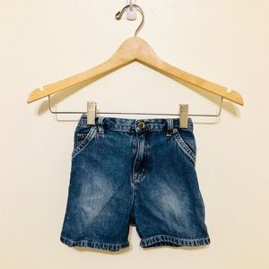 Toddler Denim Cargo Shorts